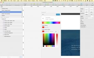 Screenshot of the Customizer UI Kit